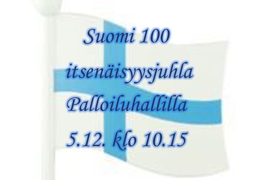 Suomi 100-itsenäisyysjuhla